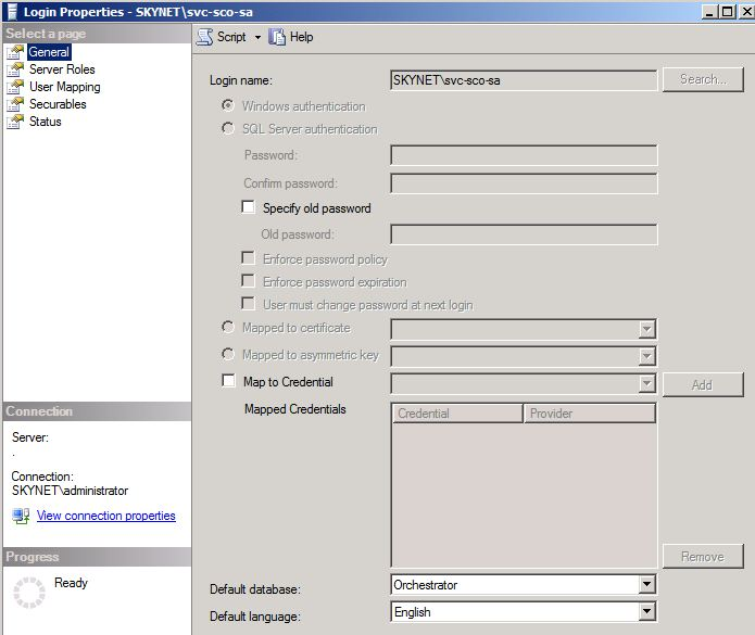 How to move your Orchestrator database – www contoso se