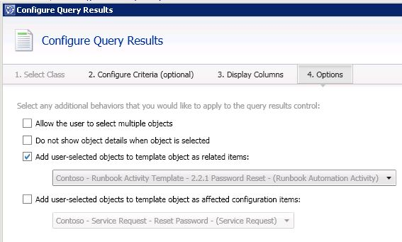 Password reset with the Service Manager self-service portal