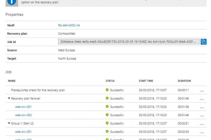 """""""Argument is null or empty"""" error when running post-steps script in Azure Site Recovery"""